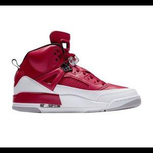 NIKE Jordan SPIZIKE Men's Gym Red Size US 13